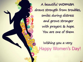 🌸🎀💄👗👘👙👠👛Happy Women's Day to All the Gorgeous Women! 🌸🎀💄👗👘👙👠👛