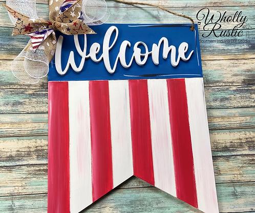 American Flag Door Hanger Kit!