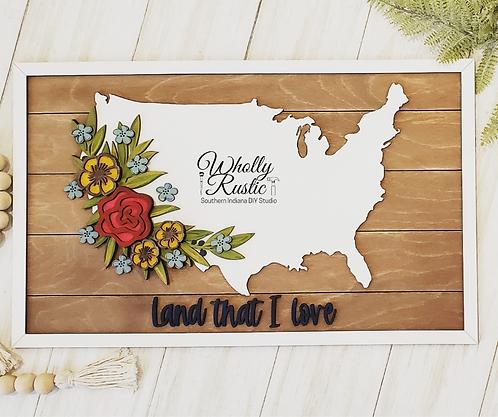 Land I Love Craft Kit!