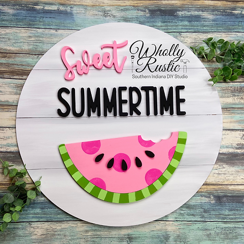 Sweet Summertime Door Hanger Kit!