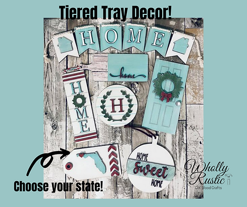 HOME Tiered Tray Kit!