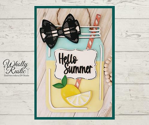 Hello Summer Door Hanger Kit!