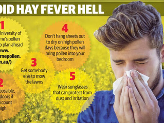 Avoid Hay Fever Hell