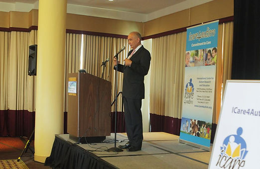 Randy Lewis at ICare4Autism's Global Autism Workforce Initiative Conference