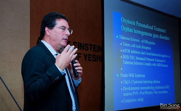 Dr. Eric Hollander, Chairman of the ICare4Autism Advisory Council at 2013 International Autism Conference