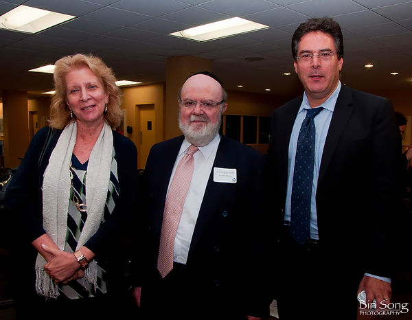 Founder of ICare4Autism, Dr. Joshua Weinstein, with Advisory Committee Member Dr. Beth Diviney and Dr. Eric Hollander, Chairman of the ICare4Autism Advisory Committee