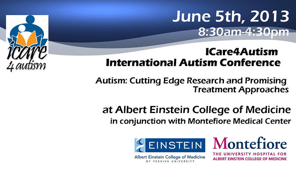 2013 International Autism Conference