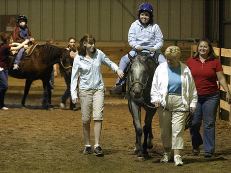 Wonders in the saddle: Therapist finds hope with kids on horseback