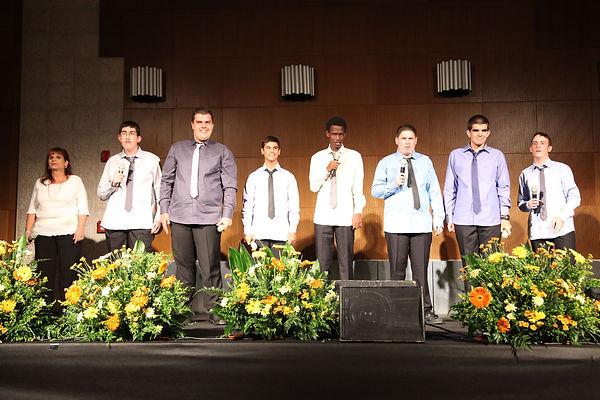 Autistic Boys' Choir from the ORT School in Kiryat Bialik
