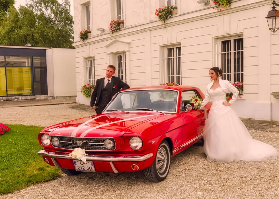 le carosse des mariés