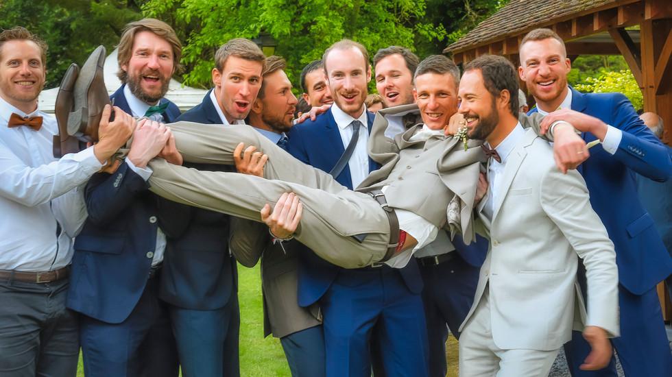 Porté du marié