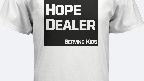 Hope Dealer White T Shirt
