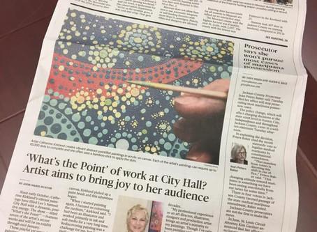 Joy of art! Article in KC Star-LS Journal
