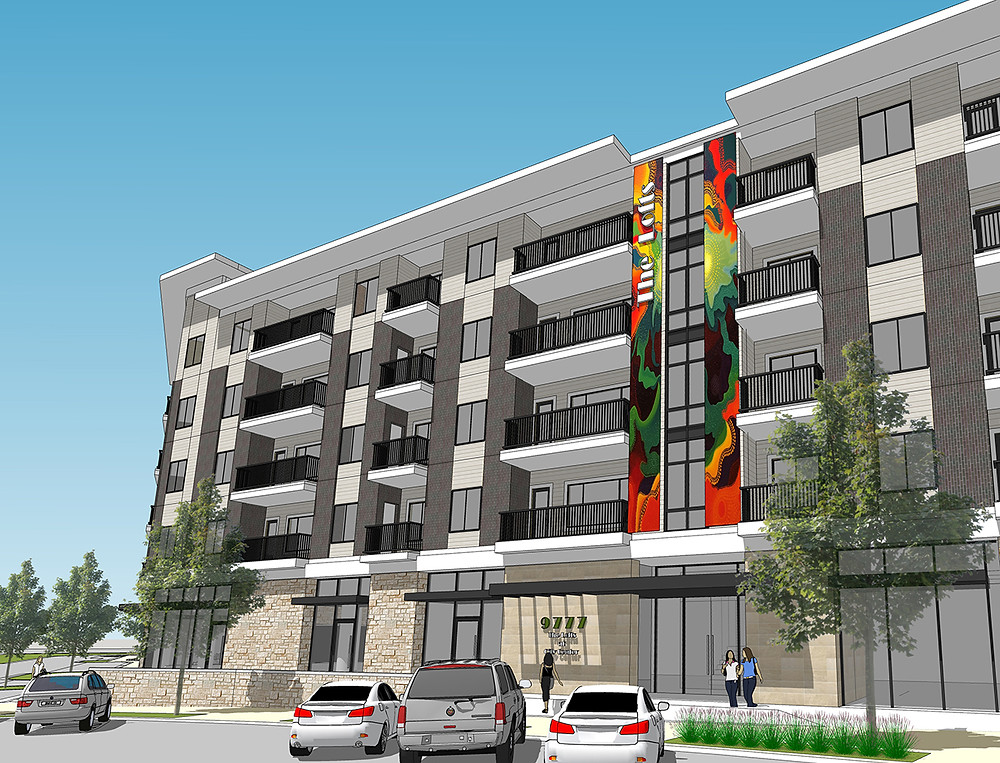 The Lofts at City Center rendering