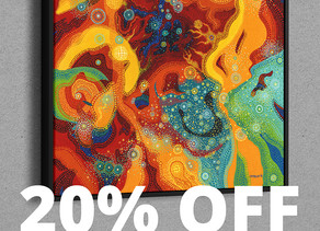 20% Off Catherine's Art Prints!