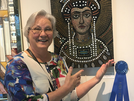 Empress Theodora Painting Awarded 1st Place!