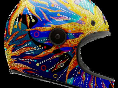 Exclusive Art Helmet