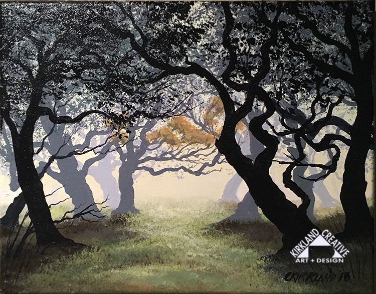 Misty Oaks III original