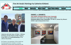 Kirkland Creative Art home page