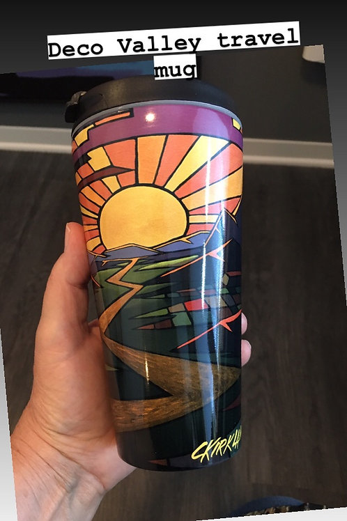Deco Valley Travel Mug