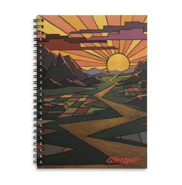 Deco Valley Spiral Notebook