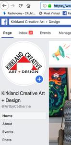 Kirkland Creative Art + Design Facebook