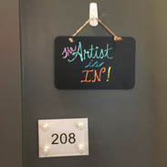The Artist is In!