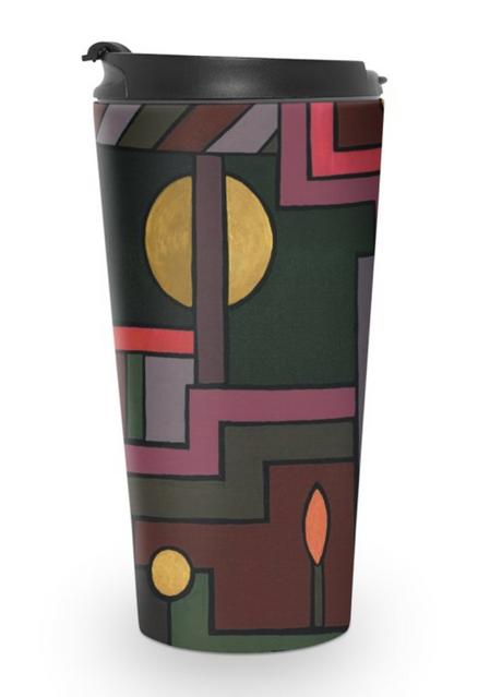 Deco Design Travel Mug