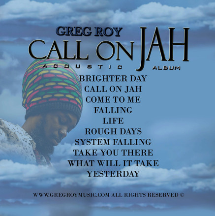 """CALL ON JAH"" song list"