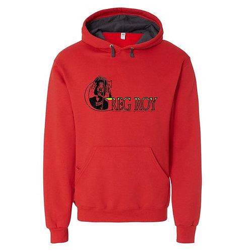 Sweatshirt - Greg Roy - Red