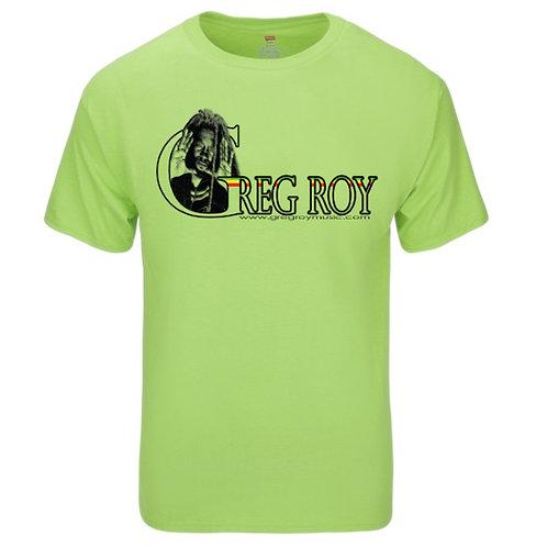 T-shirt - Greg Roy -  Men's  Bright Green