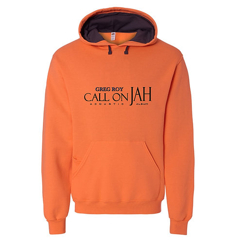 Sweatshirt -Greg Roy Call on JAH - Orange