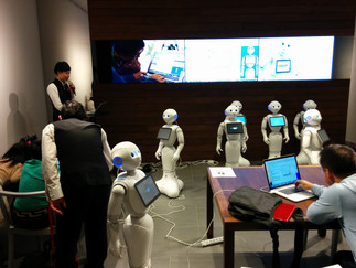 Pepper Robots for Enhanced Elderly Health