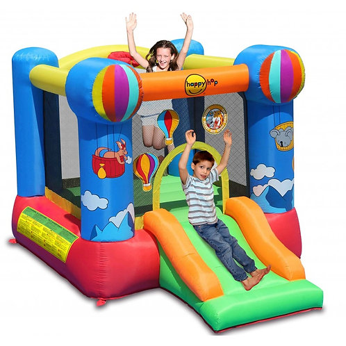 Baloon Bouncy Castle With A Slide And Basketball