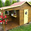 Thumbnail: ELSA Wooden Playhouse | With Doors, Window & Playing Area | Flat Packed