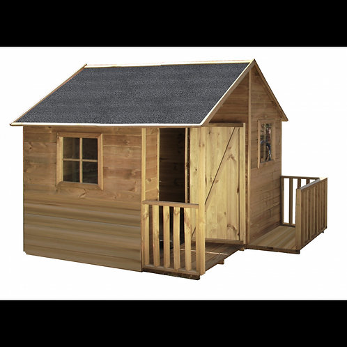 MARTIN Wooden Playhouse | Doors & Windows Included | Flat Packed