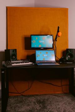 The producer's desk