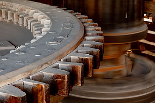 Spinning Clock Gears