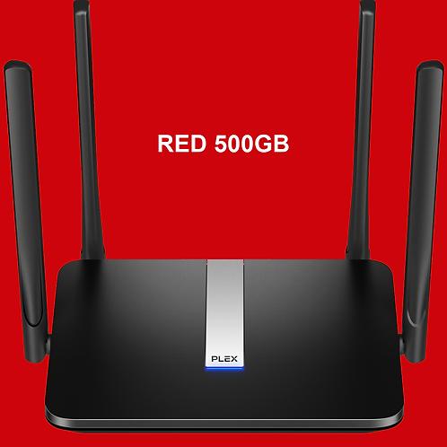 PLEX Modem +500 GB RED Plan