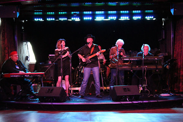 The All Stars playing on a Carnival cruise