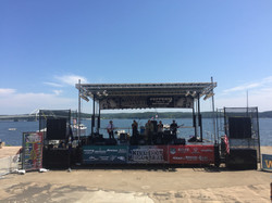 All Star Music stage in Kentucky