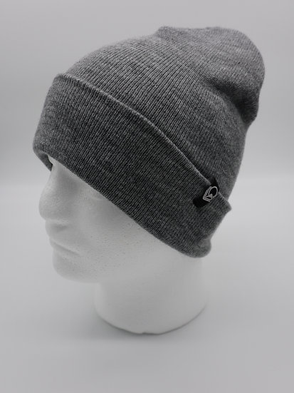 Beanie heather gray long
