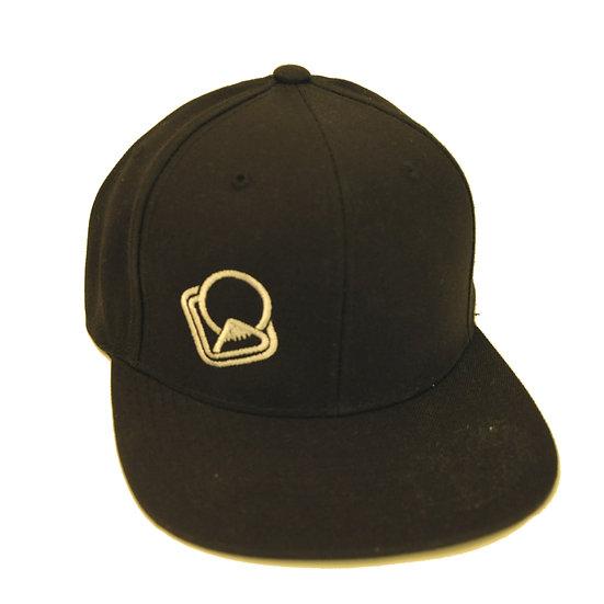 Snapback-Cap black Logo