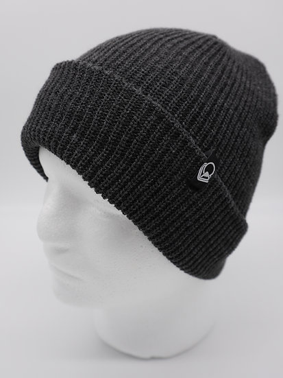 Beanie dark gray knit