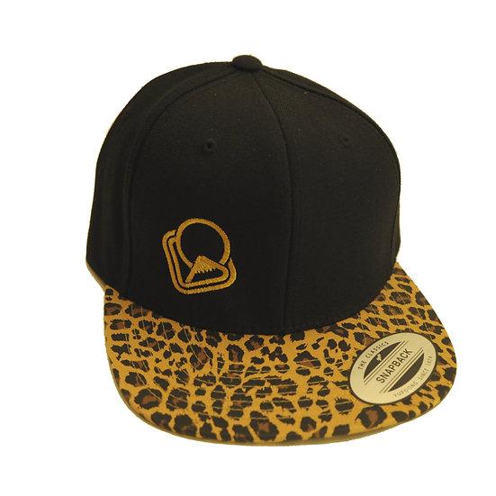 Snapback-Cap Leopard Logo