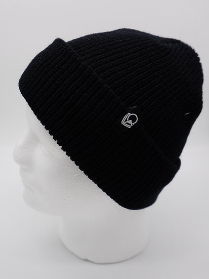 Beanie black knit