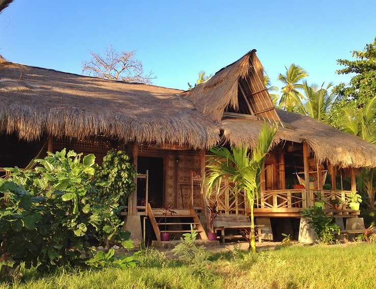 Flores is an island to the east of Bali (near Timor). Tranquil and charming, it's a great artist retreat !