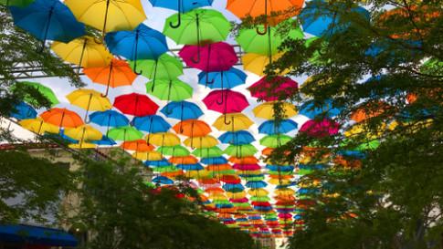 Umbrella Sky Project, Coral Gables