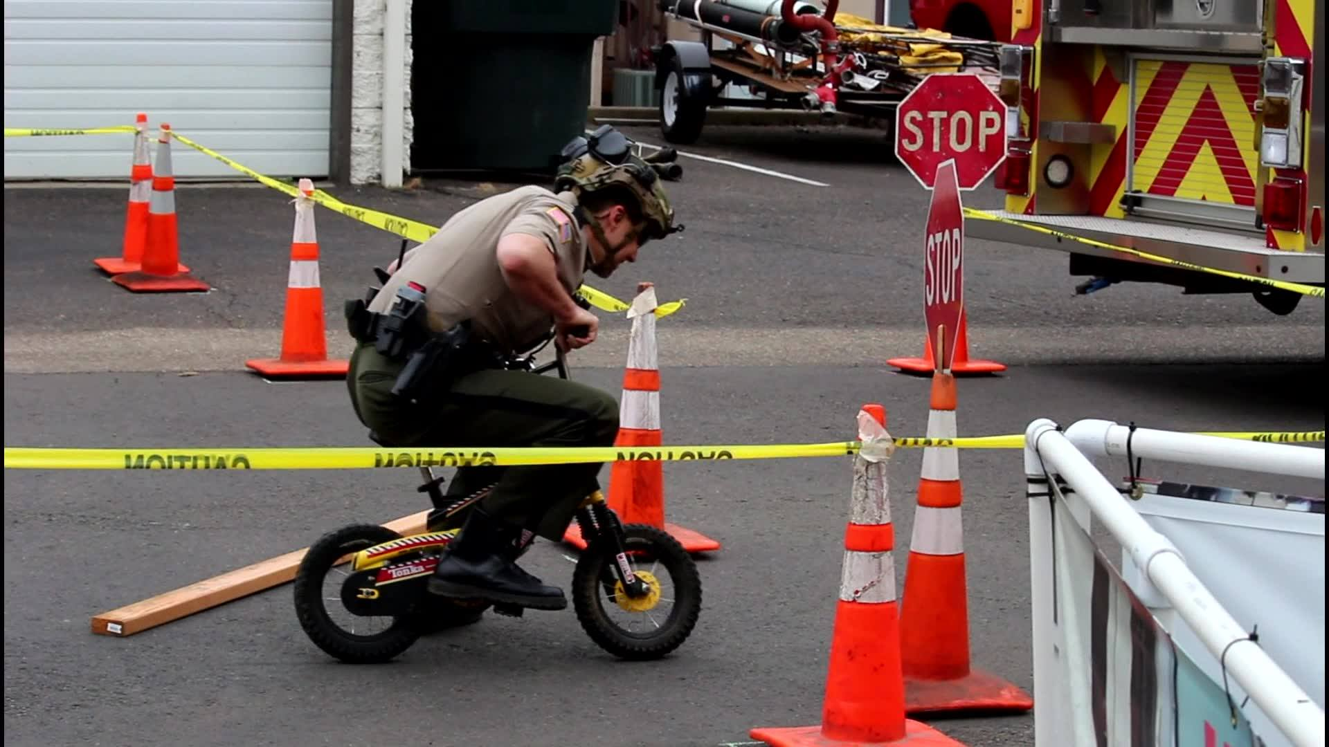 DCSO at the 2018 Bike Rodeo