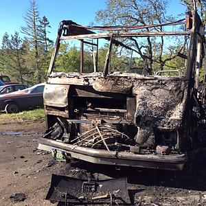 1314 Metz Hill Rd. Fire